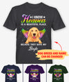 Heaven Is Beautiful Dog - Personalized Custom Unisex T-shirt - Pet Memorial Gifts