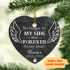 Forever In My Heart - Personalized Ceramic Christmas Ornaments