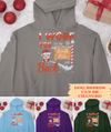 To The North Pole And Back - Personalized Custom Hoodie