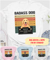 Badass Dog - Personalized Custom Classic T-shirt
