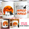 Hurrcus Purrcus - Halloween Cat - Personalized Custom Mug