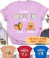 Tacos And Dog - Personalized Custom Premium T-shirt
