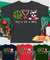Peace Love Dog Christmas - Personalized Custom Youth Shirt