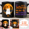 Flip My Witch Switch Cat - Personalized Custom Coffee Mug - Halloween Mug