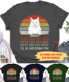 I'll Be Watching You - Personalized Custom Unisex T-shirt