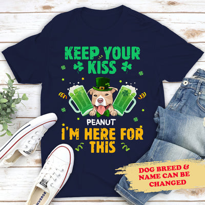 Keep Your Kiss - Personalized Custom Unisex T-shirt