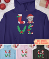 Love Christmas - Personalized Custom Hoodie - Christmas Gifts For Dog Lovers