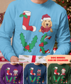 Love Christmas - Personalized Custom Long Sleeve - Christmas Gifts For Dog Lovers