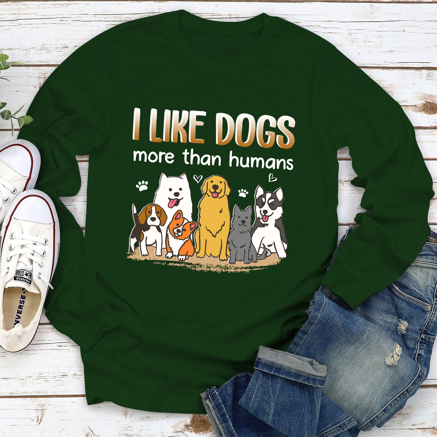 I like dogs - Classic Long Sleeve