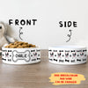 Dog Activities - Personalized Custom Pet Bowl