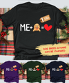 Me And My Dog - Personalized Custom Premium T-shirt