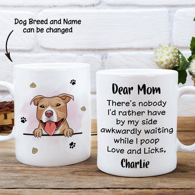 Awkwardly Waiting - Personalized Custom Coffee Mug