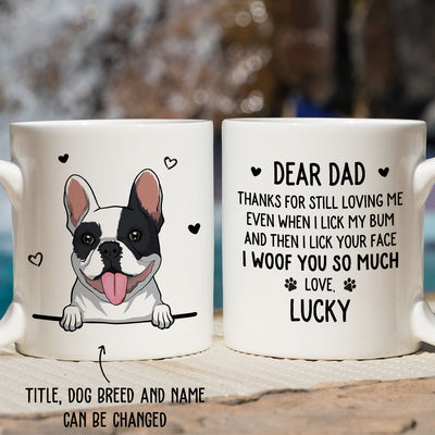Lick Your Face - Personalized Custom Coffee Mug