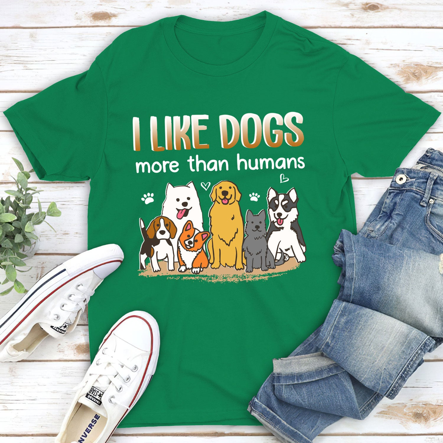 I like dogs - Classic unisex T-shirt