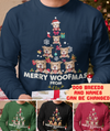 Merry Woofmas - Personalized Custom Long Sleeve