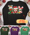 Joy Christmas Dog - Personalized Custom Unisex Long Sleeve