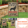 Dog Lovers Garden Flag - Personalized Custom Garden Flag