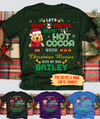 Watch Christmas Movies With My Dog - Personalized Custom Unisex T-shirt