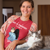 Life Is Purrfect - Personalized Custom Women T-shirt
