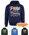 Paw Mommy -  Personalized Custom Unisex Hoodie