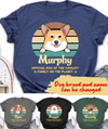 Official Dog - Personalized Custom T-shirt