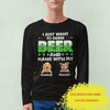 Beer And Dog 2 - Personalized Custom Long Sleeve