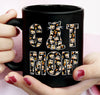 Cat Mom - Halloween Coffee Mug - Custom Coffee Mug
