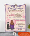 Constant Companionship - Personalized Custom Fleece Blanket