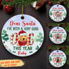 A Good Dog - Personalized Ceramic Christmas Ornaments