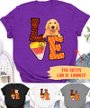 Love Halloween Dog - Personalized Custom Unisex T-shirt
