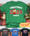 Christmas 2020 - Personalized Custom Unisex T-shirt - Christmas Gifts For Dog Lovers