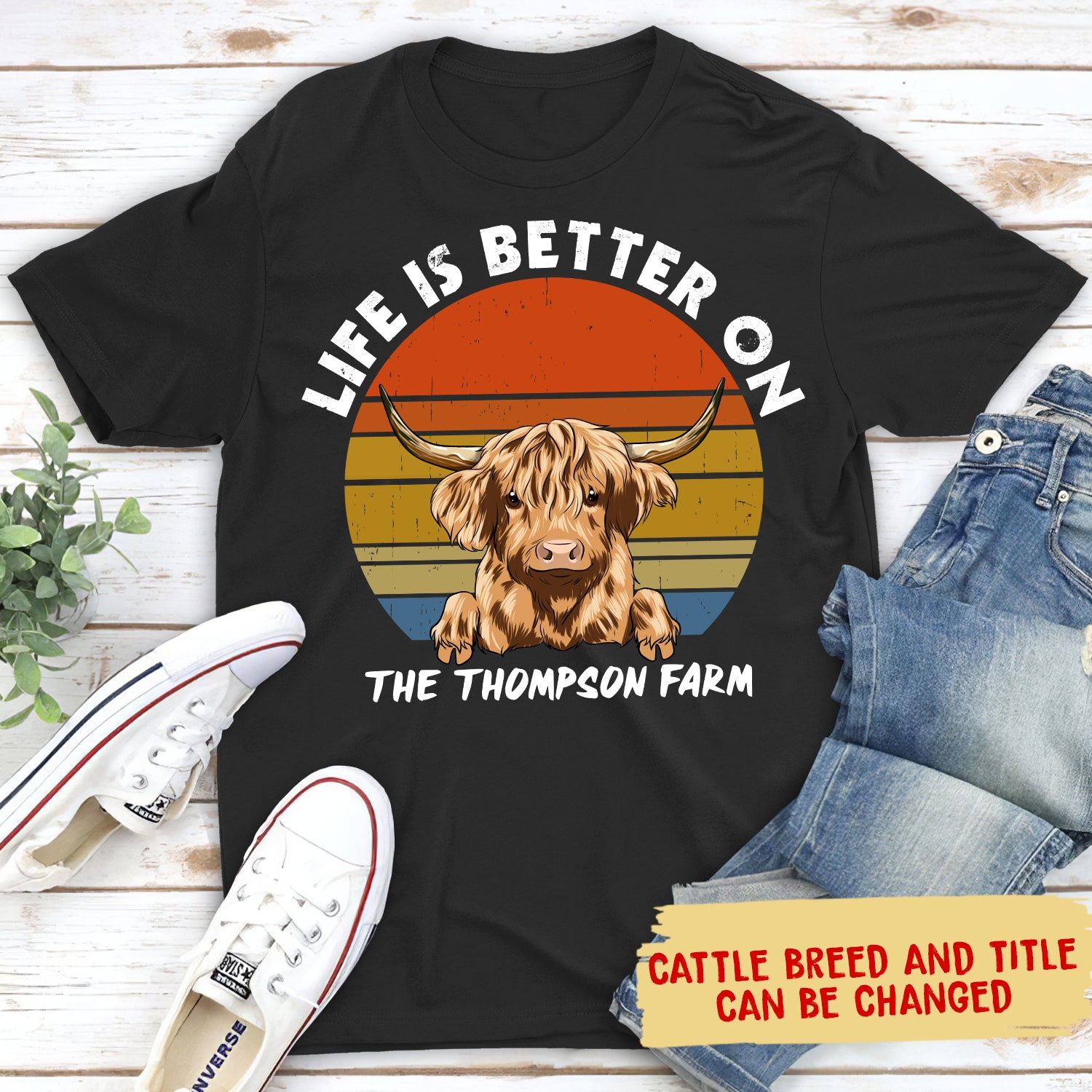 A Better Life - Personalized Custom Unisex T-Shirt