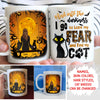 I Lose My Fear and Find My Cat - Personalized Custom Mug