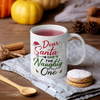 My Dog Is The Naughty One - Personalized Custom Coffee Mug - Christmas Gift