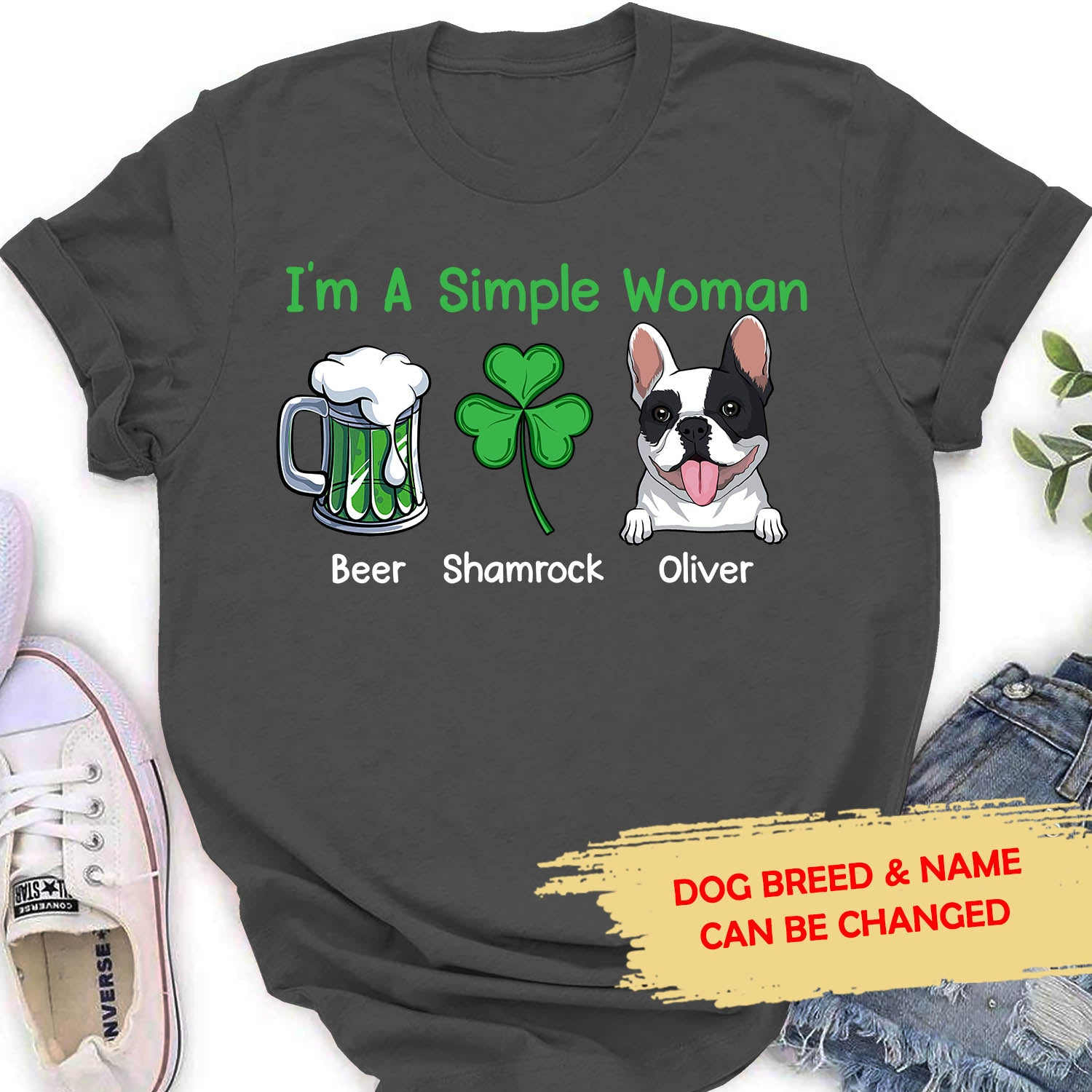 Simple Women - Personalized Custom Women T-shirt