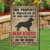 Golden Retriever Garden Flag - Garden Flag
