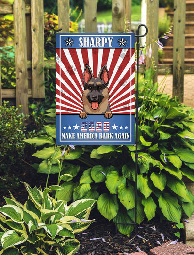 Make America Bark Again - Personalized Custom Garden Flag