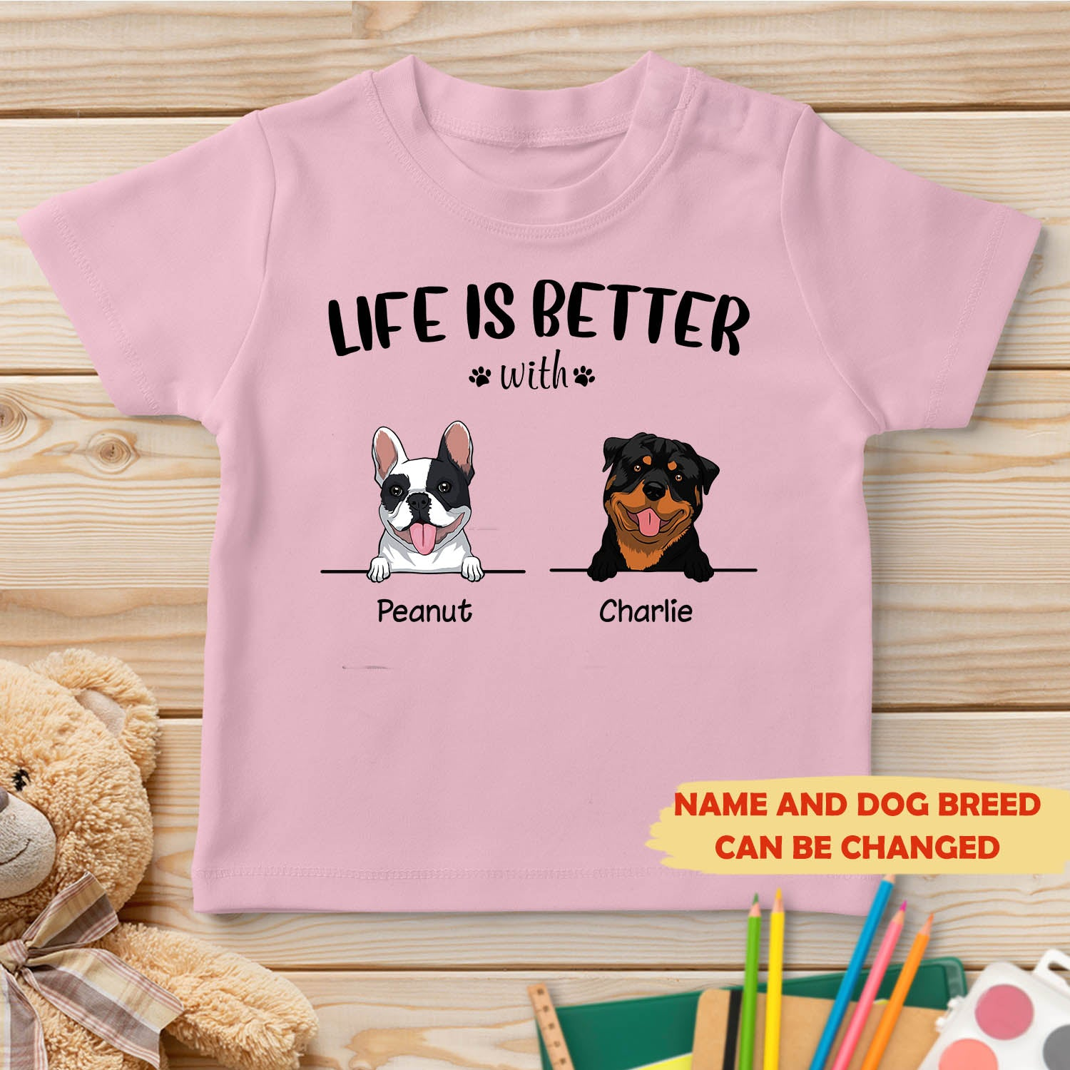 Life is better - Personalized Classic Youth T-shirt