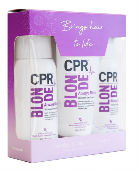 CPR Blonde Trio Pack