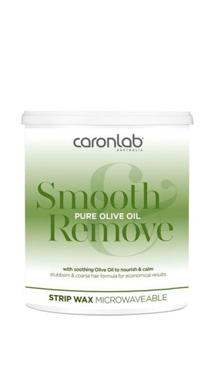 Caronlab- Smooth Remove Olive Oil- Strip Wax- 800g