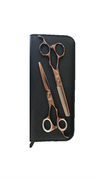MI Rose Gold Professional Scissor Set EOFY Sale 25% OFF