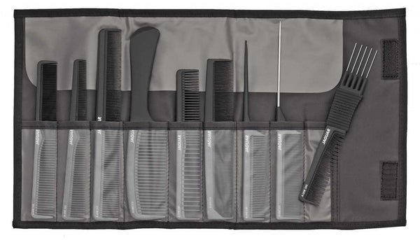 Jaguar Roll Out Comb Set- Black