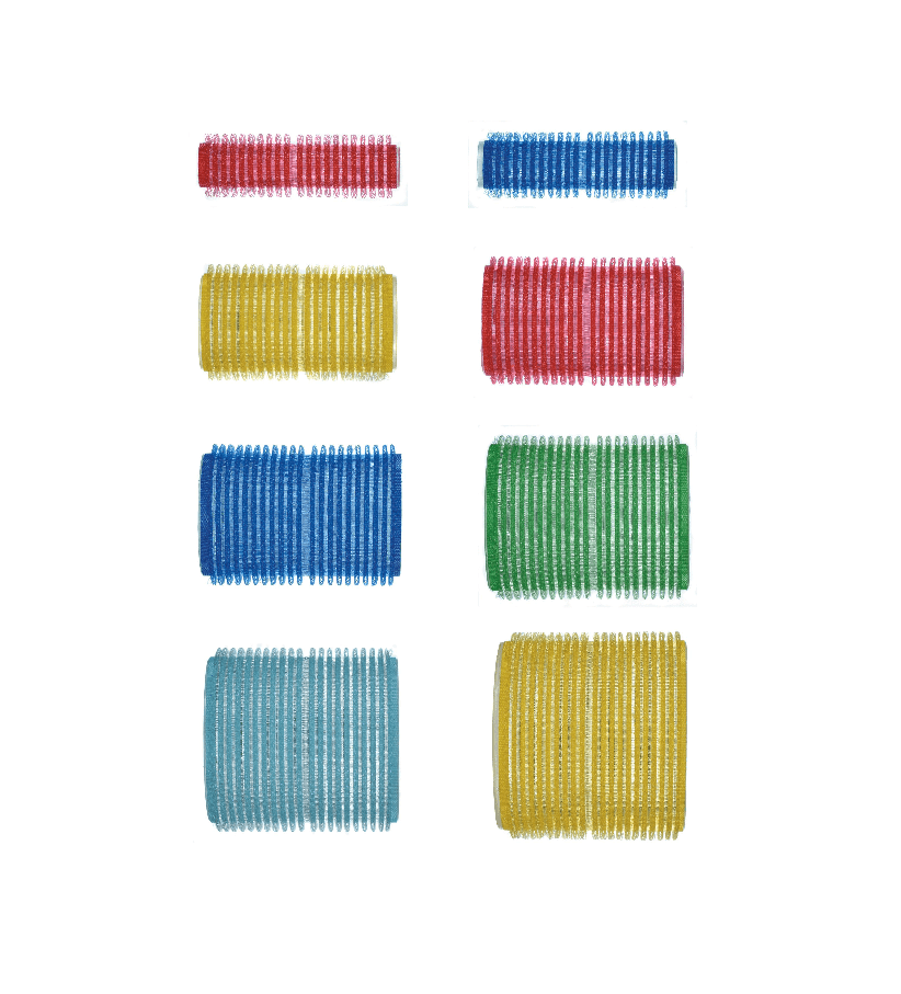 Velcro Rollers 6 pack