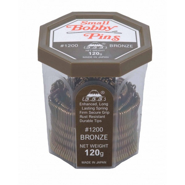 555 Small Bobby Pins 120g