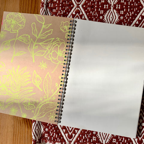 Screen Printed Sketchbook