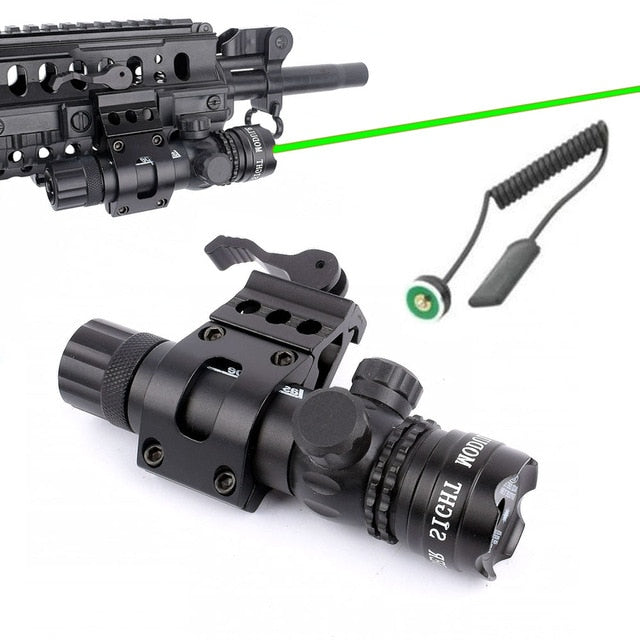 WIPSON Outdoor Hunting Tactical Red Dot Laser Sight Scope With Mount for Pistol