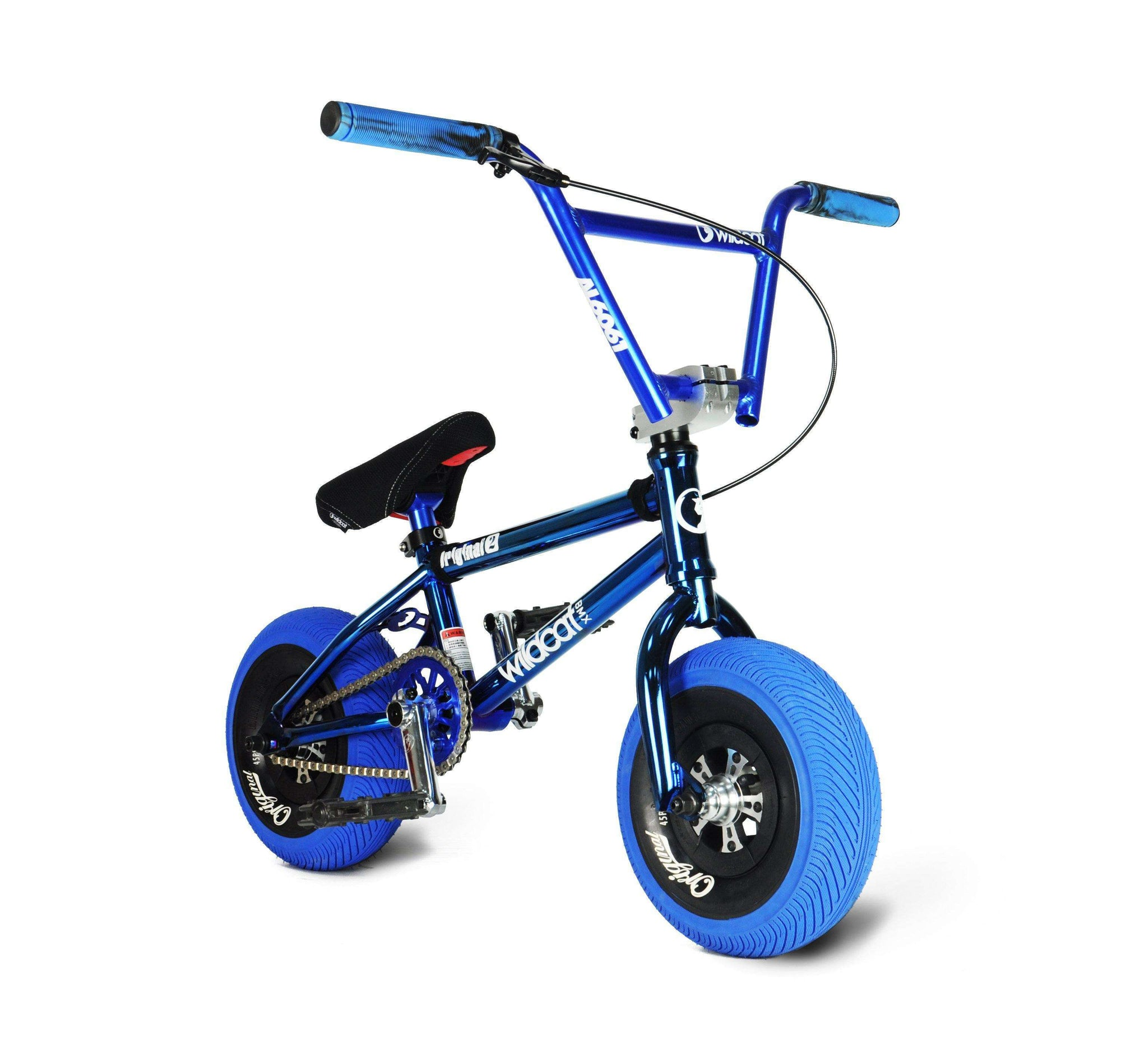Pro Series Joker Blue - FREE Disc Brake & Pro Turbo Wheel Mini BMX Wildcat Mini BMX Disc Brakes