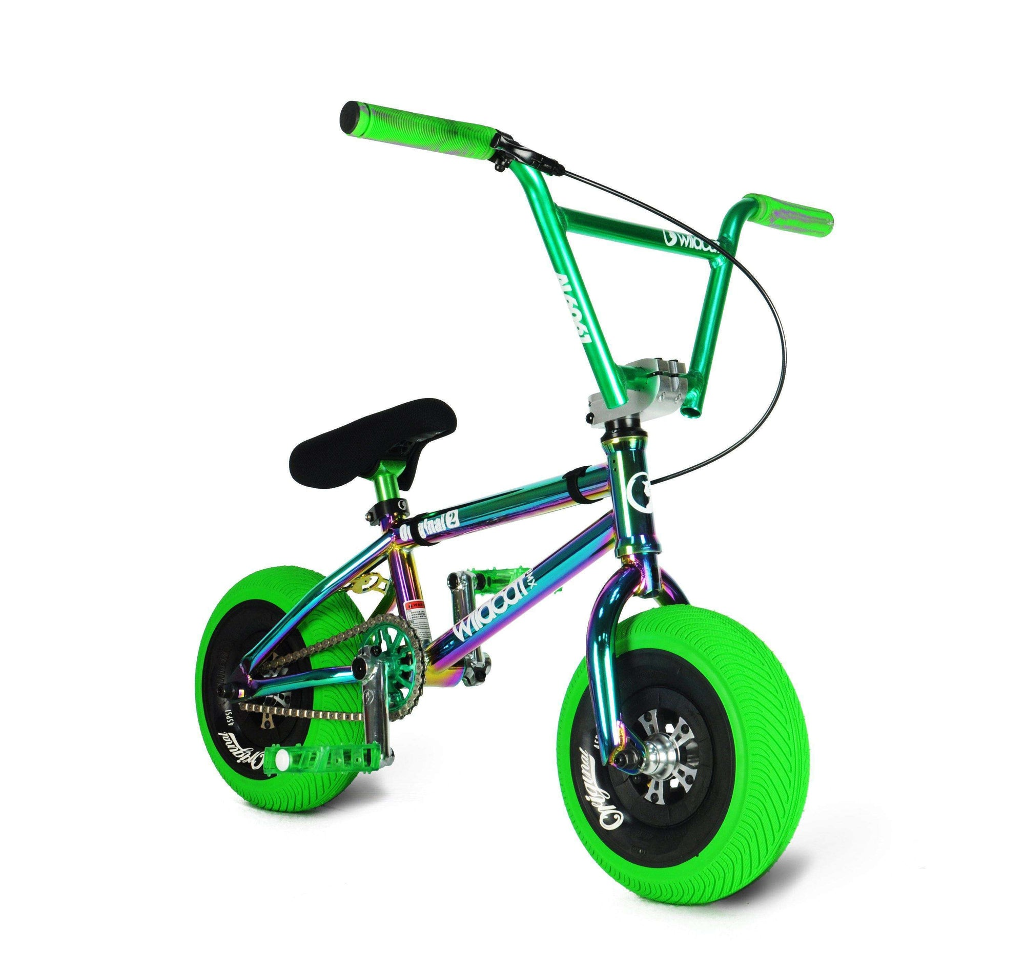Pro Series Joker Green - FREE Disc Brake & Pro Turbo Wheel Mini BMX Wildcat Mini BMX Disc Brakes
