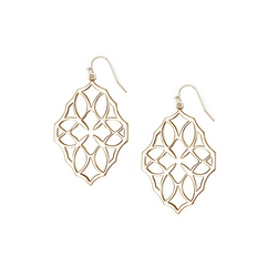 Believer Small Drop Earrings in Gold