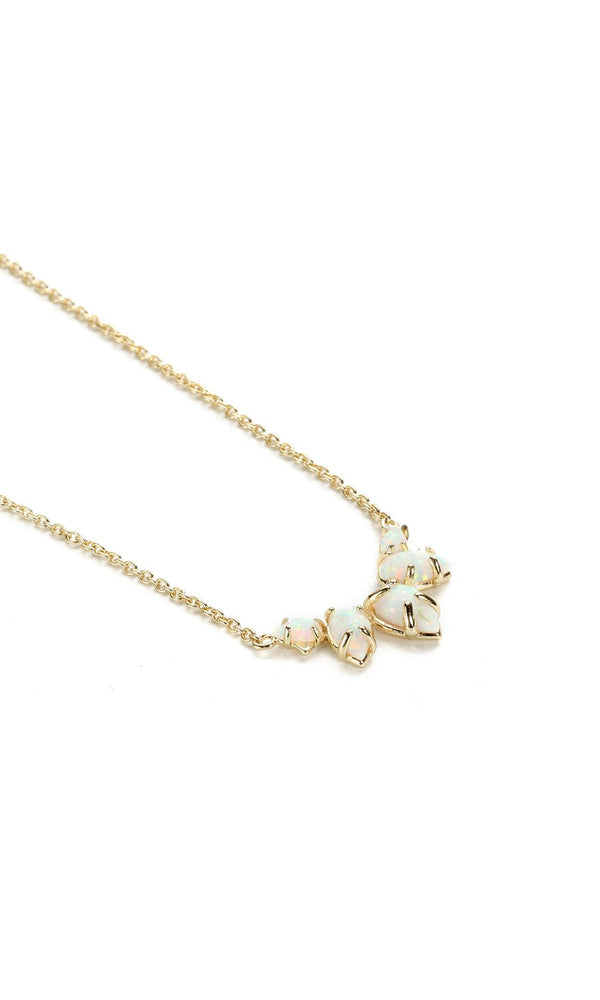 NATALIE WOOD DESIGNS Daydreamer Necklace- Opal in Gold